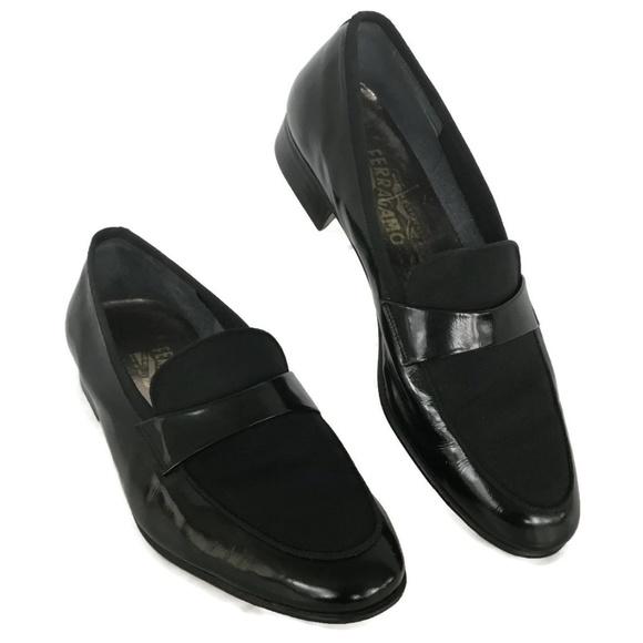 Ferragamo Shoes Men Loafer 9 Ee Tuxedo Black Poshmark